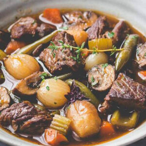 Keto Traditional Beef Stew